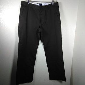 Gap Brown Premium Pant Straight Fit 35/32 NWT